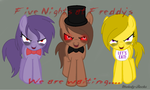 Five Nights at Freddy's by Melody-Rocks