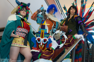 Baten Kaitos Group by negativedreamer