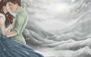 .Winter Kiss. by Lii-chan