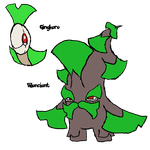 Gingkoro, Biloncient (Living Fossil contest entry) by WolfryHedgies