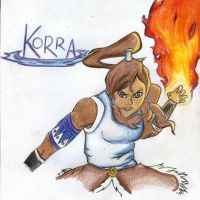 The Legend of Korra by PEACHROS3