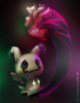 Mimikyu will stole your heart by Alin-the-Dog