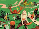 Buffy the Vampire Slayer Season 10 issue 8 by StevenJamesMorris