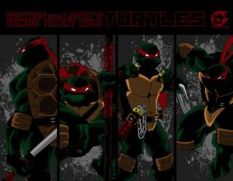 TMNT by SpitfirePirate