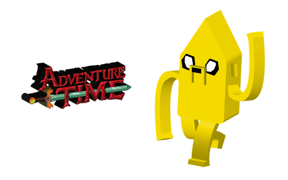 Jake in 3D by Cyril-L-Valentine