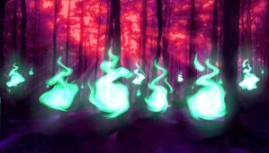 SPECTER FLAME FOREST by Syker-SaxonSurokov