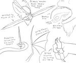 Talon's weapons and some white flame lore by CrystalCircle