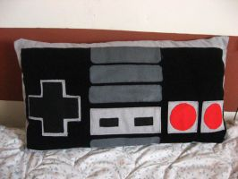 NES pillow by S0yuki