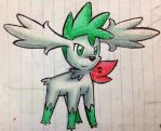Shaymin Sky Forme by bananners96