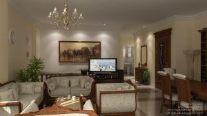 Duplex Interior by M-Fawzi