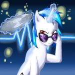 Vinyl Scratch by Vahnara