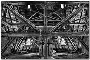 Roof Truss by kiebitz