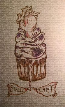 Sweet Hearts Cupcake by Rossross1993
