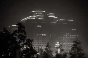 Financial building - Beijing by Marcusion