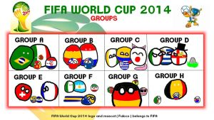 FIFA World Cup 2014 : The Groups by Franceball