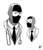 Dr. McNinja by WhitePsych5