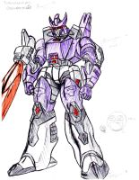 Transformers - Galvatron by DeviantDolphinART