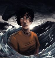Son of Poseidon by Caerulai