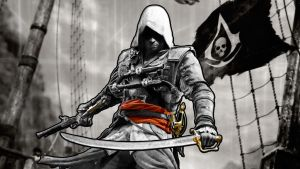Assassins Creed 4 Wallpaper by Muffinpopski