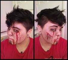Makeup Test: Waylon Park by ghosty-Cat