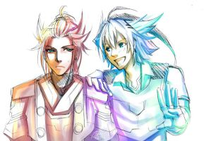 TF : Humanized Drift n Blurr by Beriuos
