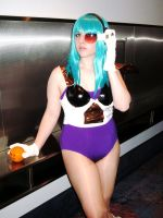 Bulma what's the scouter say? by bow-bat