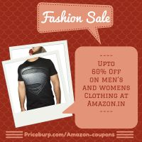 Upto 60% Off on Mens and Womens Clothing at Amazon by siddharthkamble987