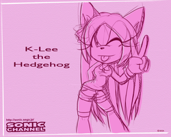 Sonic Channel K-Lee by Shontiachaosmaster