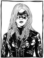 Black Canary - 2 by DMThompson