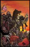 Alien Vs. Predator on the Planet of the Apes by PaulHanley