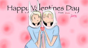 Happy Valentine's by ask-finnandfionna