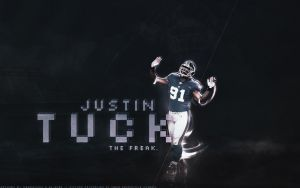 Justin Tuck - collab by sha-roo