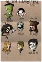 fiction characters by JoelAmatGuell