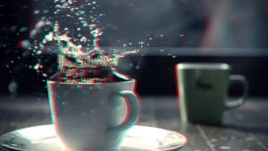 Splash in a Teacup 3-D conversion by MVRamsey