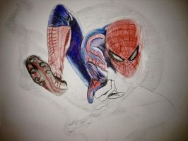 Spidey progress by rimrimrim