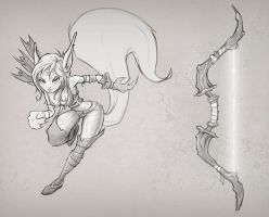 Squirrel Girl- Unreleased Tencent game by Hamilton74