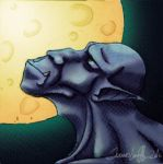 Gragoyle. Embrase of the Moon by JLamps