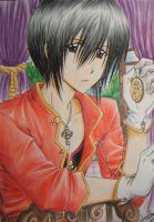Dark Haired Prince : Royal by loveandpeacetotoro