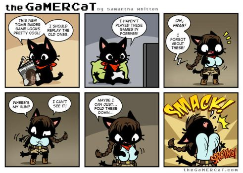 the GaMERCaT - Tomb Jiggler by celesse