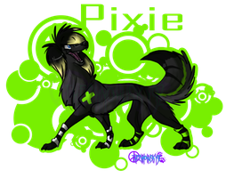 ID commish_Pixie by ThechnoHusky92