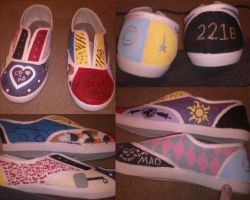 Selling Custom Painted Shoes by Sports3388