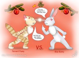 PP vs. BB - New Year Battle by Tanita-sama