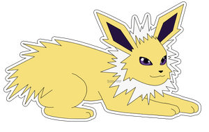 Eeveelution: Jolteon by izka-197