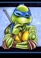 Leonardo cogitating by Acid-Flo