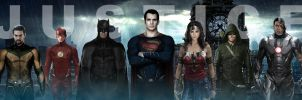 ''Justice'' League Banner by fmirza95