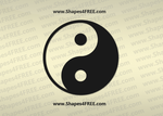 Yin Yang PS Shape - CSH by Shapes4FREE