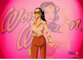 Diana Prince is WONDER WOMAN by Des Taylor by DESPOP
