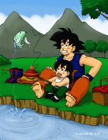 request:meghanlejeana:Gokugoha by camlost