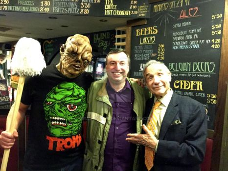 The Prince Charles Cinema meeting Toxie and Lloyd by MrAlGator