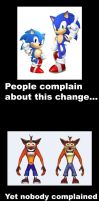 Sonic Redesign Meme by MeltingMan234